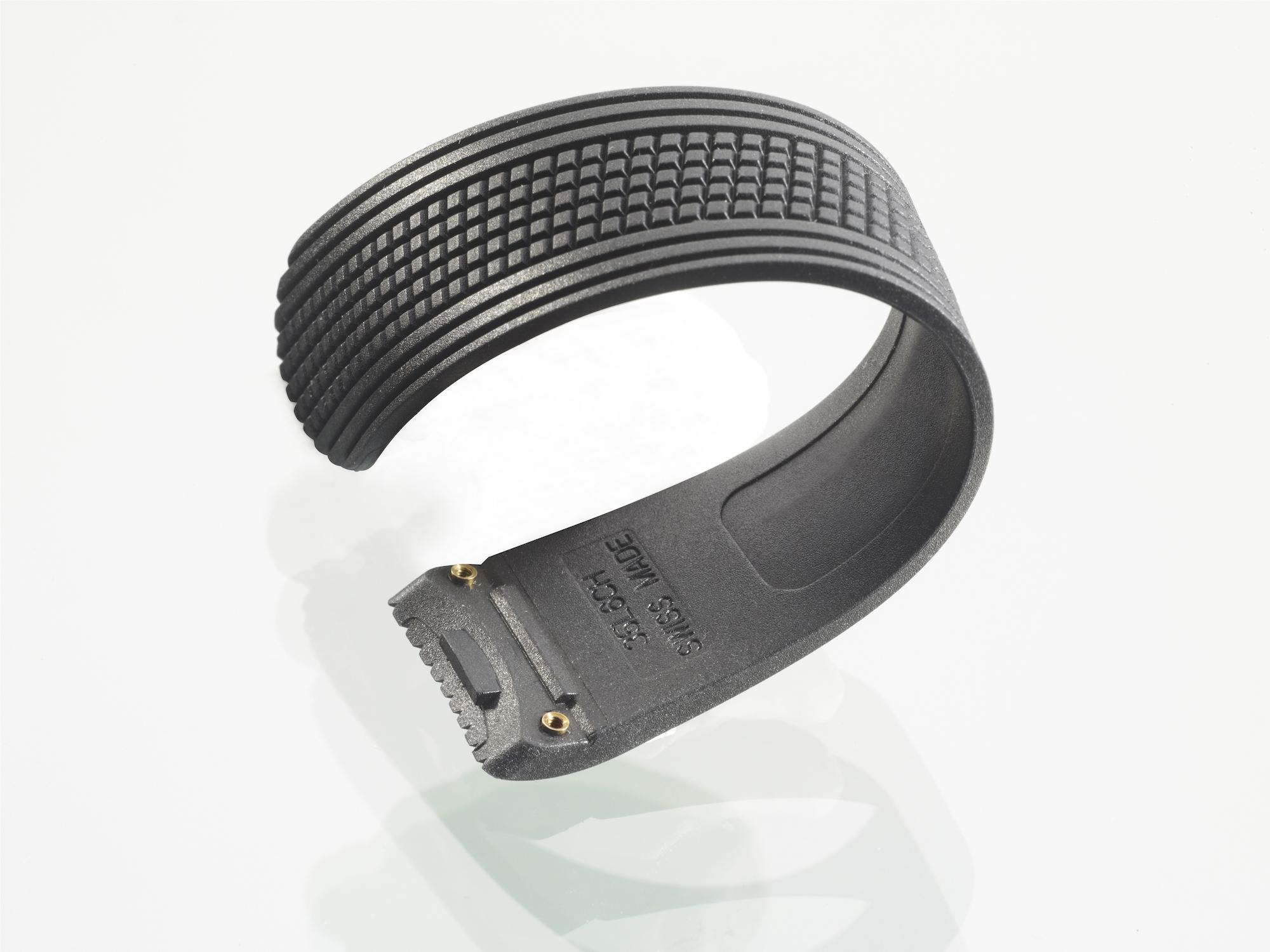 TAVON - Bracelet caoutchouc pneu